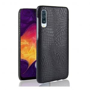 Lomogo Leather Wallet Case with Kickstand Card Holder Shockproof Flip Case Cover for Galaxy A50 LOGHU040116 White Samsung Galaxy A50 Case